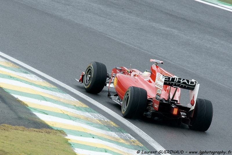 Felipe Massa - Grand Prix do Brasil de Formula 1 em Interlagos - novembro de 2010, por Laurent GUERINAUD