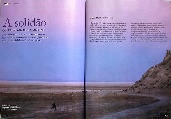 Tecnica & Pratica (Fotografe Melhor) - Como enfatizar a solidão em imagem - por Laurent GUERINAUD